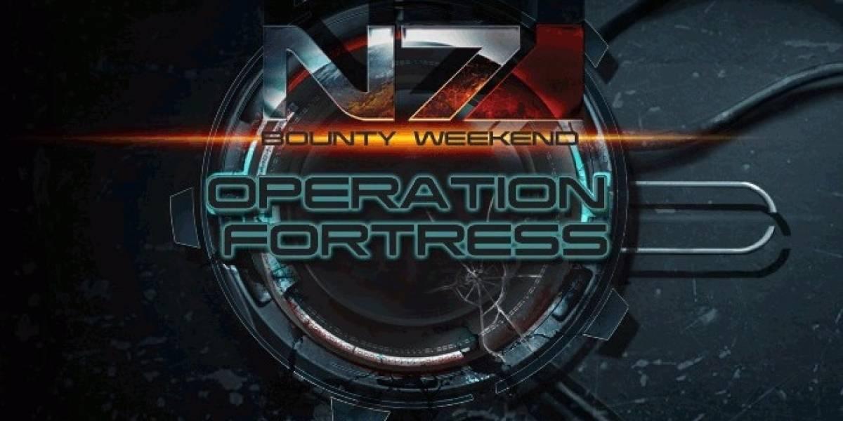 Fin de semana con 25% más de XP en Mass Effect 3