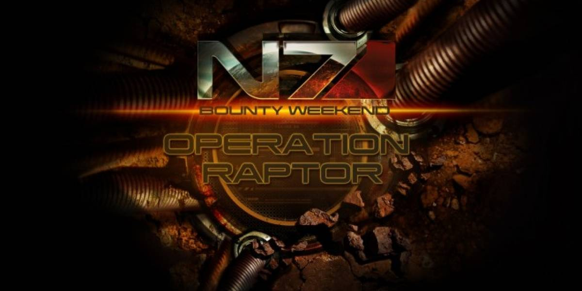 Operación Raptor en Mass Effect 3 parte este fin de semana