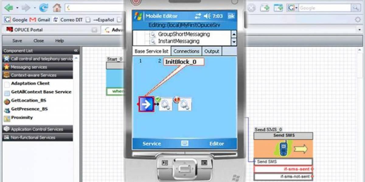 Opuce: Una plataforma para que los usuarios desarrollen sus propias aplicaciones