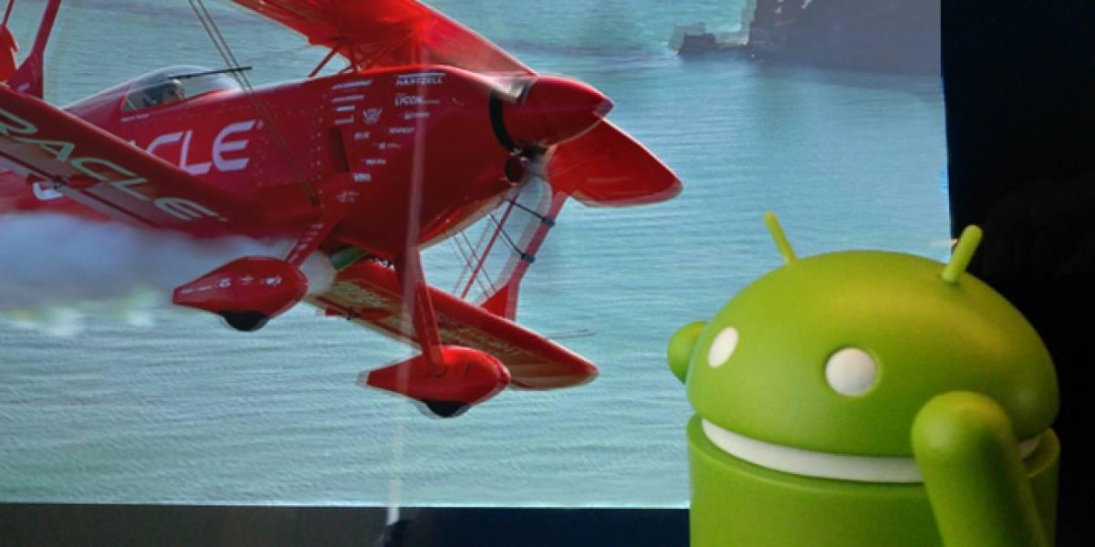 Google propone pagarle a Oracle parte de los ingresos generados por Android