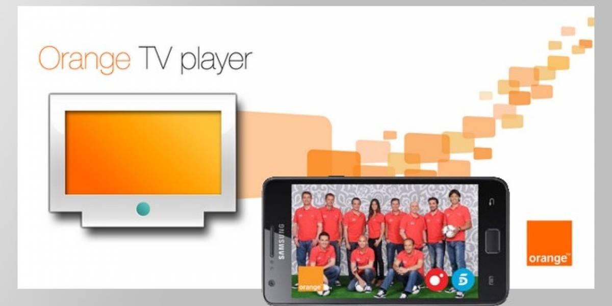 España: La Eurocopa 2012 llega a la TV Móvil de Orange