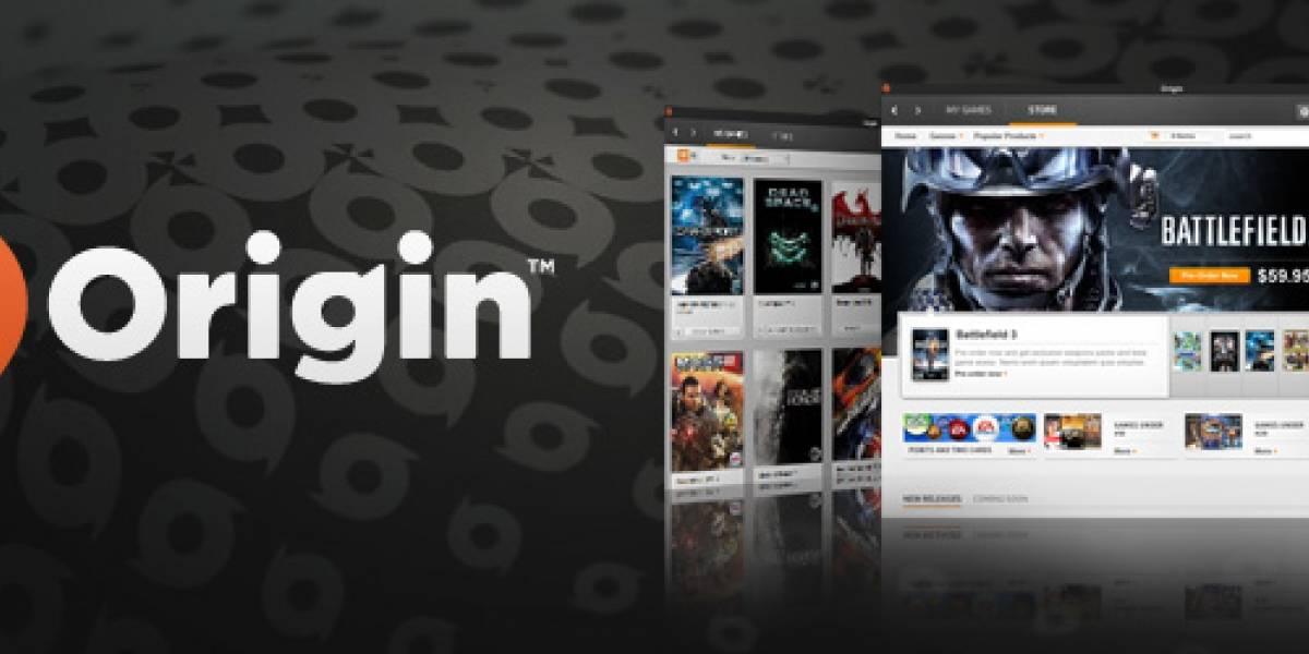 EA lanza Origin, su propia tienda de videojuegos en línea