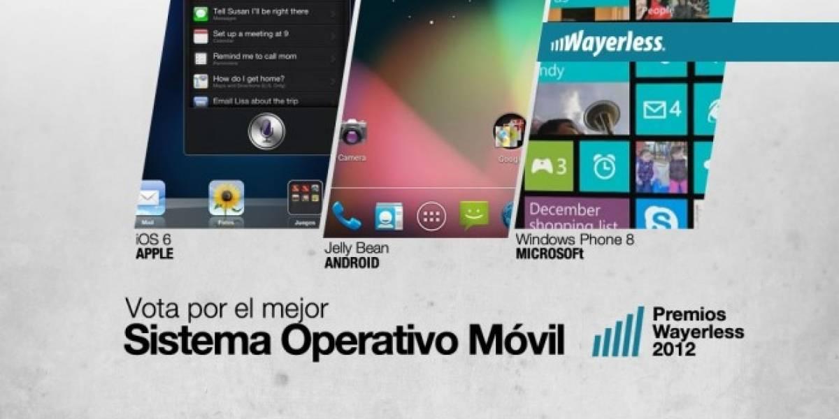 Vota por el Mejor Sistema Operativo Móvil 2012