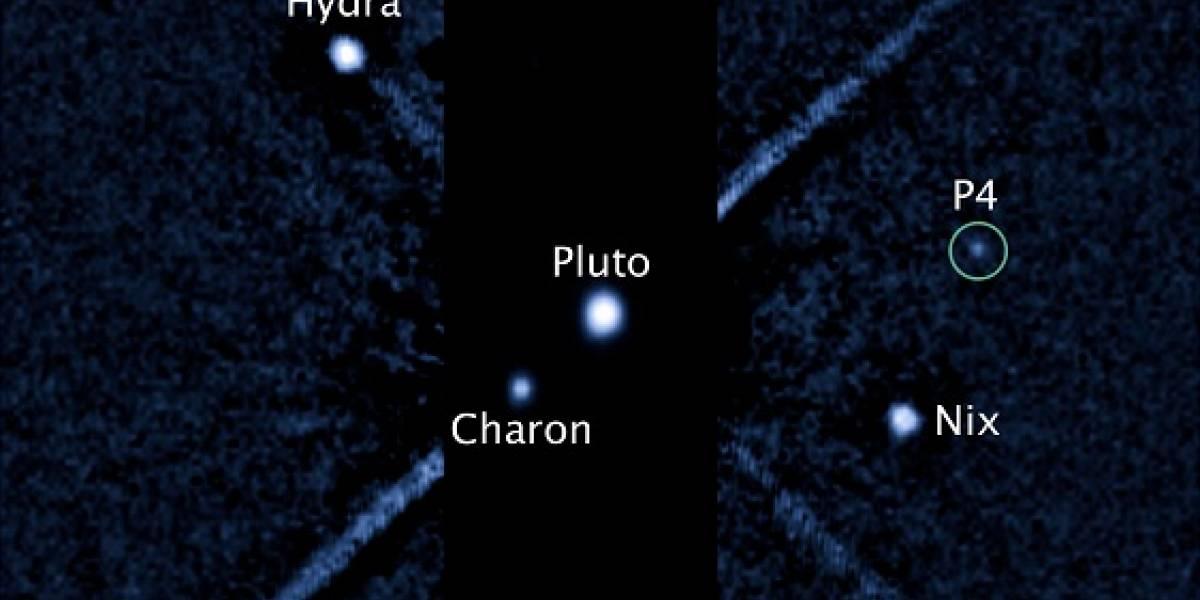 A Plutón no le alcanzará para planeta, pero ahora tiene cuatro lunas