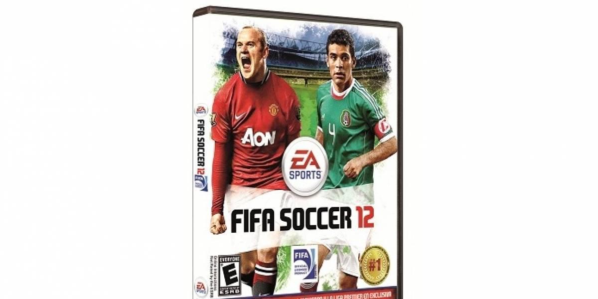 Esta es la portada final de FIFA 12 en México