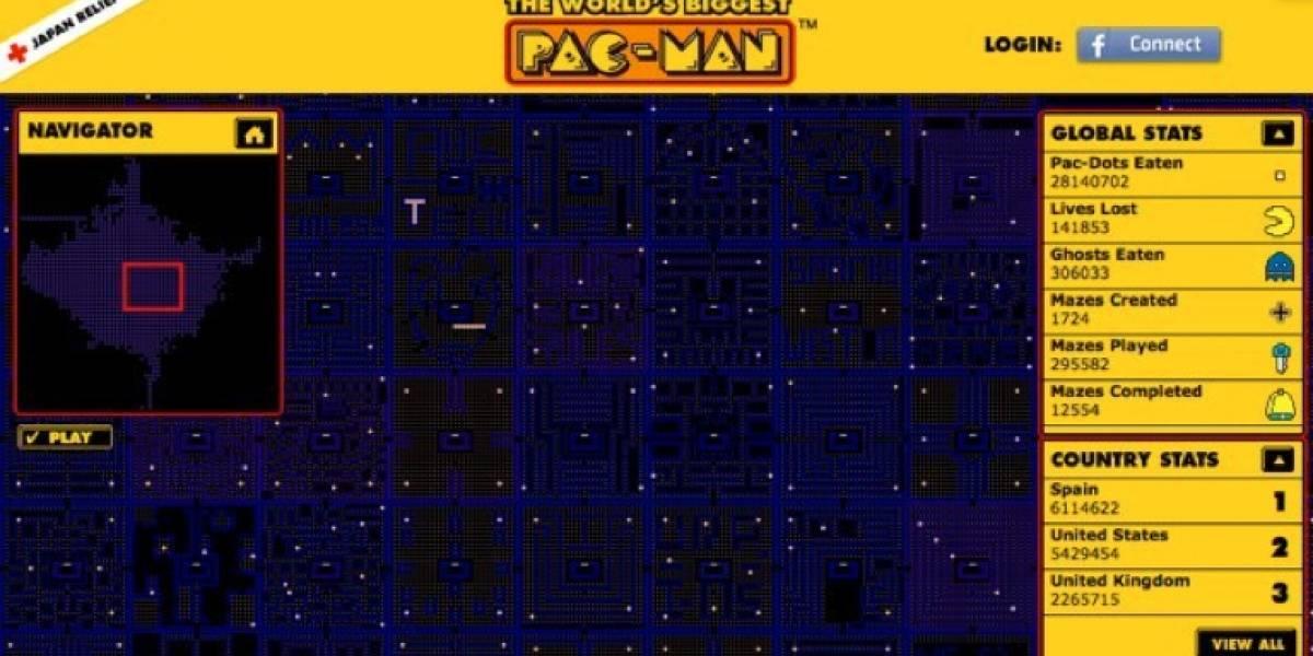 Juega el Pac-Man más grande del mundo