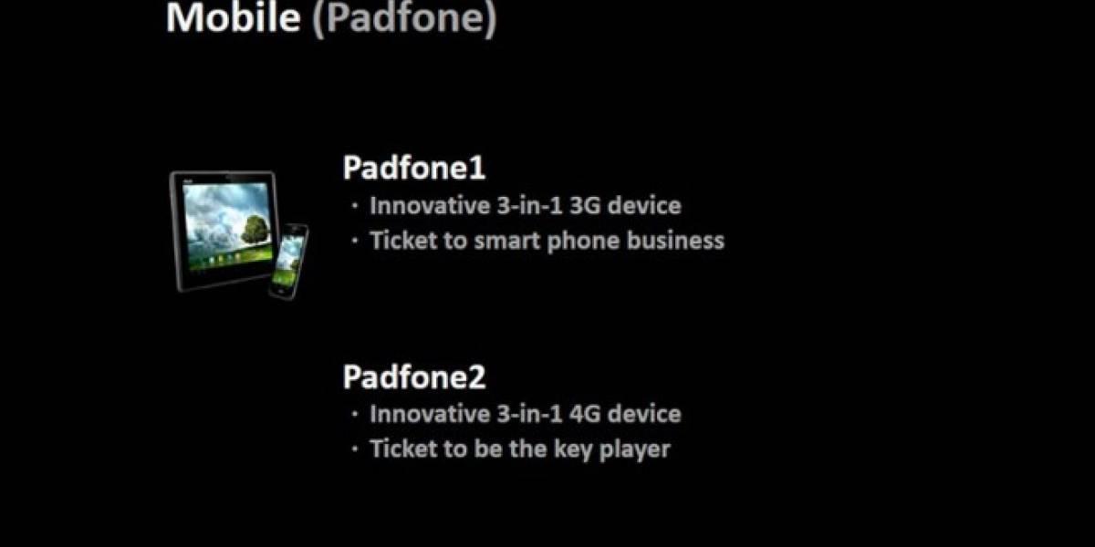 ASUS ya tiene planeada la Padfone 2