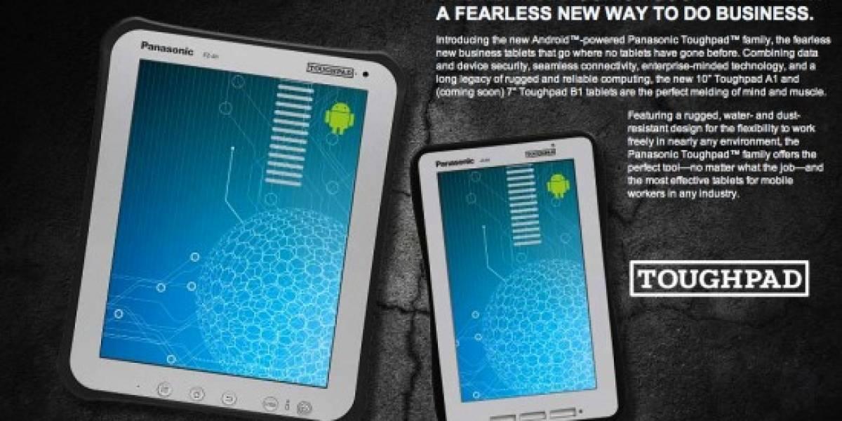 Panasonic anuncia dos tabletas todoterreno