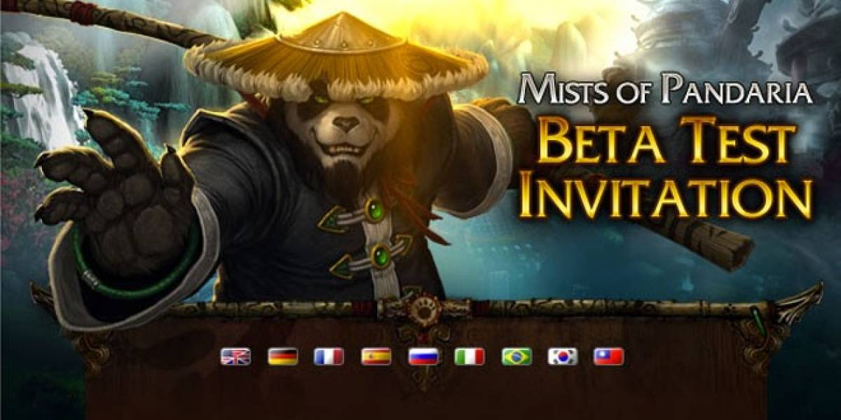 Arranca la beta de World of Warcraft: Mists of Pandaria