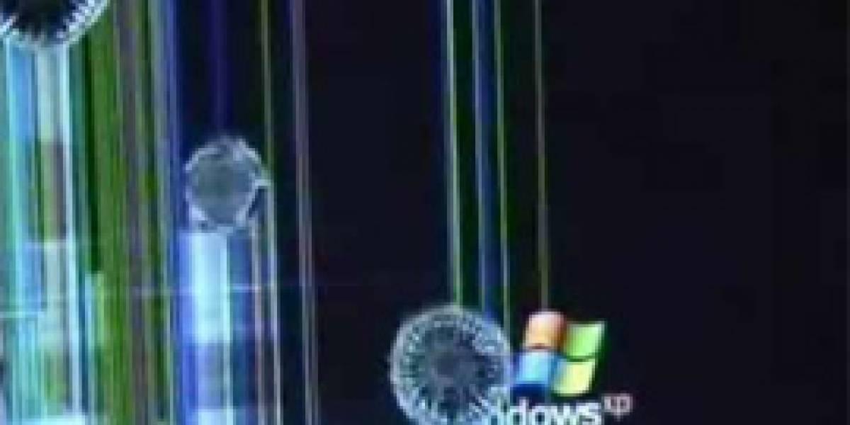 ¿Qué pasa cuando le disparas a una pantalla LCD?
