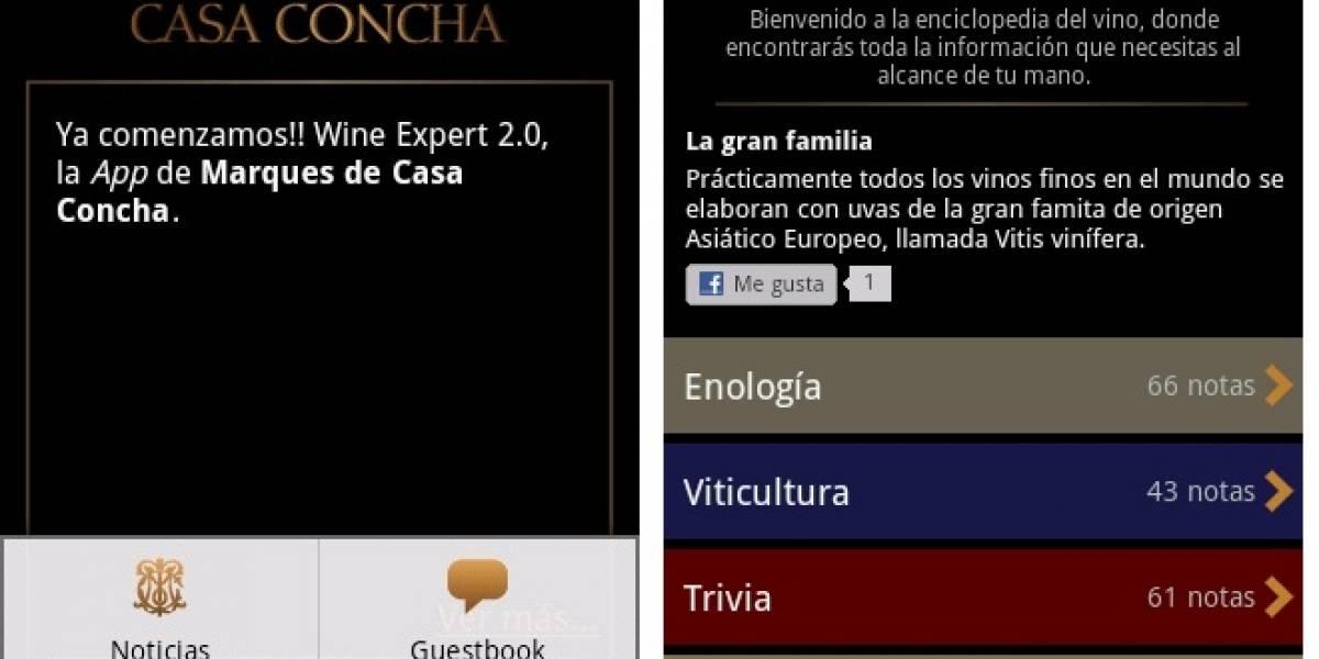 Chile: Una nueva App para convertirse en un experto en vinos