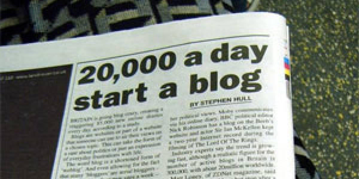 95% de los blogs estarían abandonados