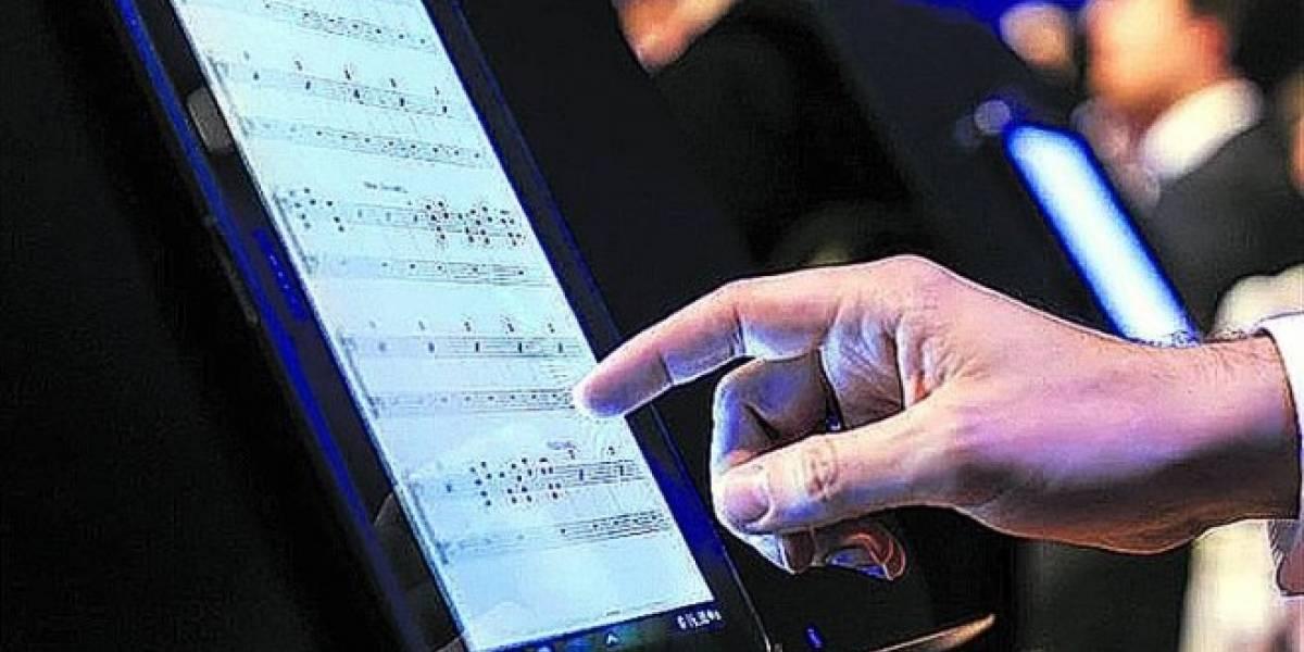 La Filarmónica de Bruselas reemplazó las partituras de papel por tablets