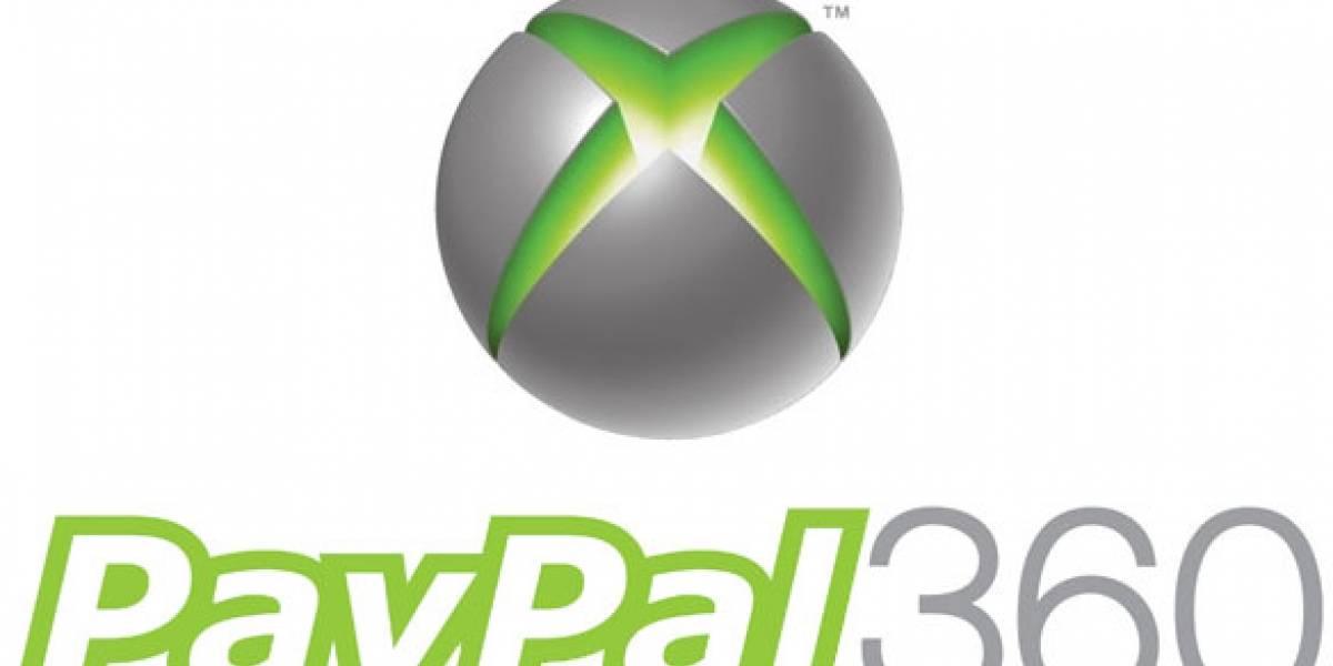 Chile y otros países no podrán usar PayPal en Xbox Live