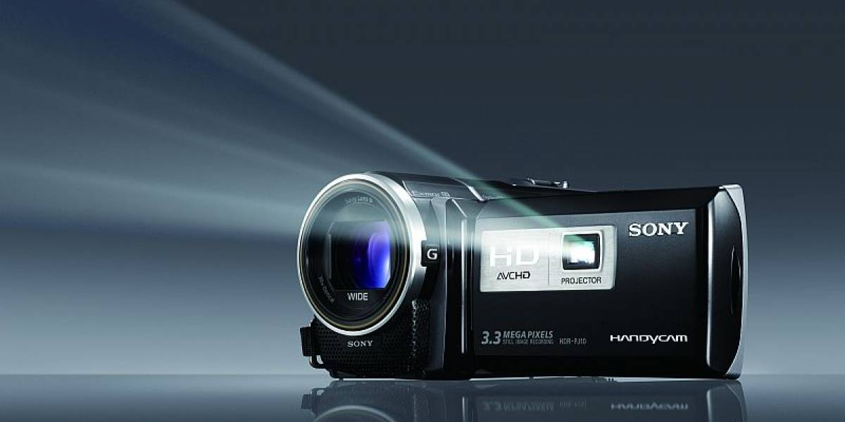 México: Sony presentó sus cámaras de video con proyector integrado