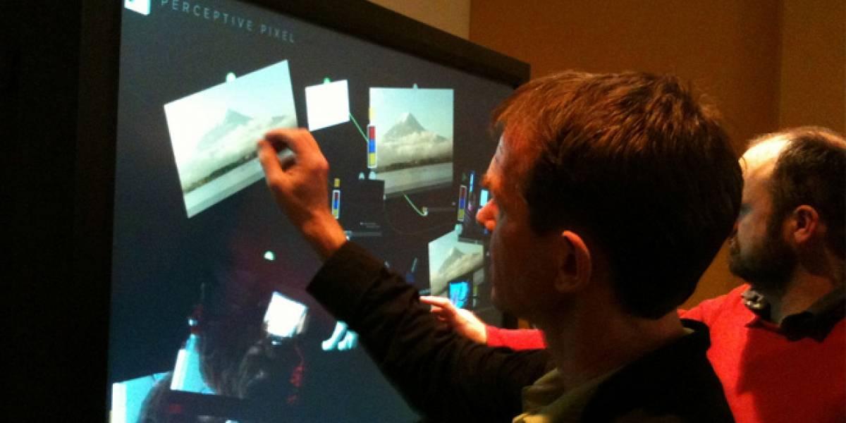 Microsoft adquiere Perceptive Pixel, para vender grandes pantallas con Windows 8