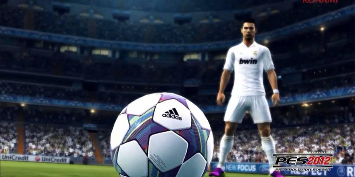 Nuevo trailer con jugabilidad de PES 2012 [gamescom 11]