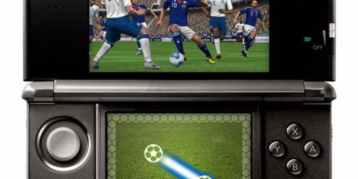 PES 2012 se muestra en su versión para Nintendo 3DS en un video [TGS 11]