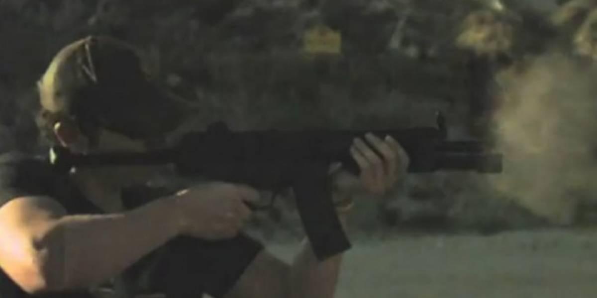 El nuevo iPad sucumbe ante una ráfaga de disparos desde un rifle HK53