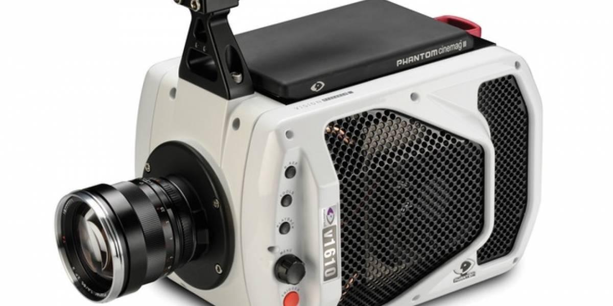 Nueva cámara Phantom graba a un millón de cuadros por segundo