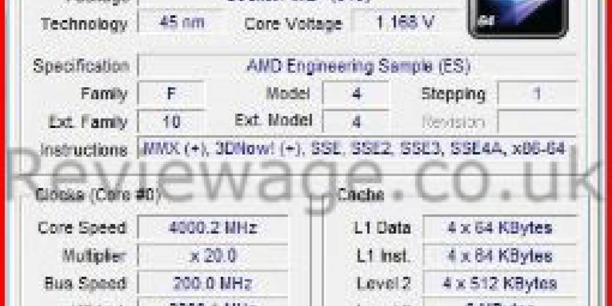 Rumor: Phenom FX corriendo a 4.4GHz stock