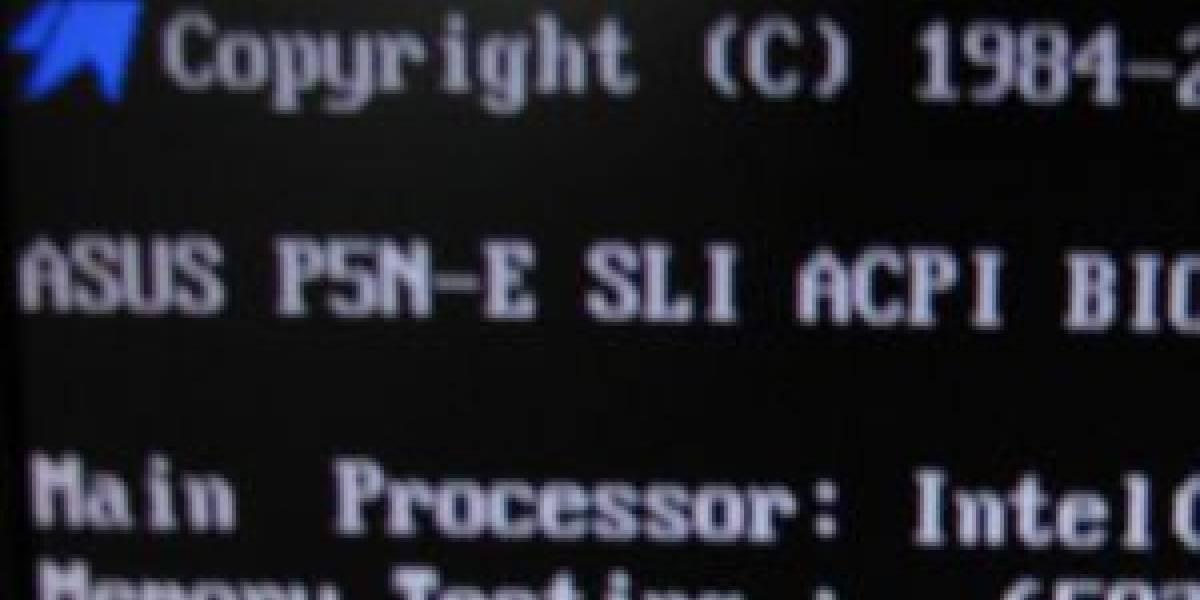 Phoenix muestra BIOS que empieza arranque en 1s