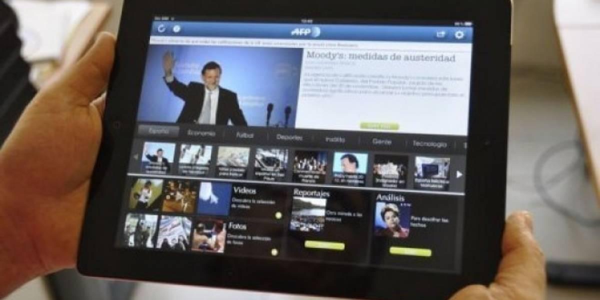 AFP lanza app para iPad en español y portugués