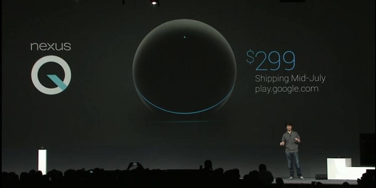 Desde hoy ya puedes reservar tu Google Nexus Q por USD$ 299