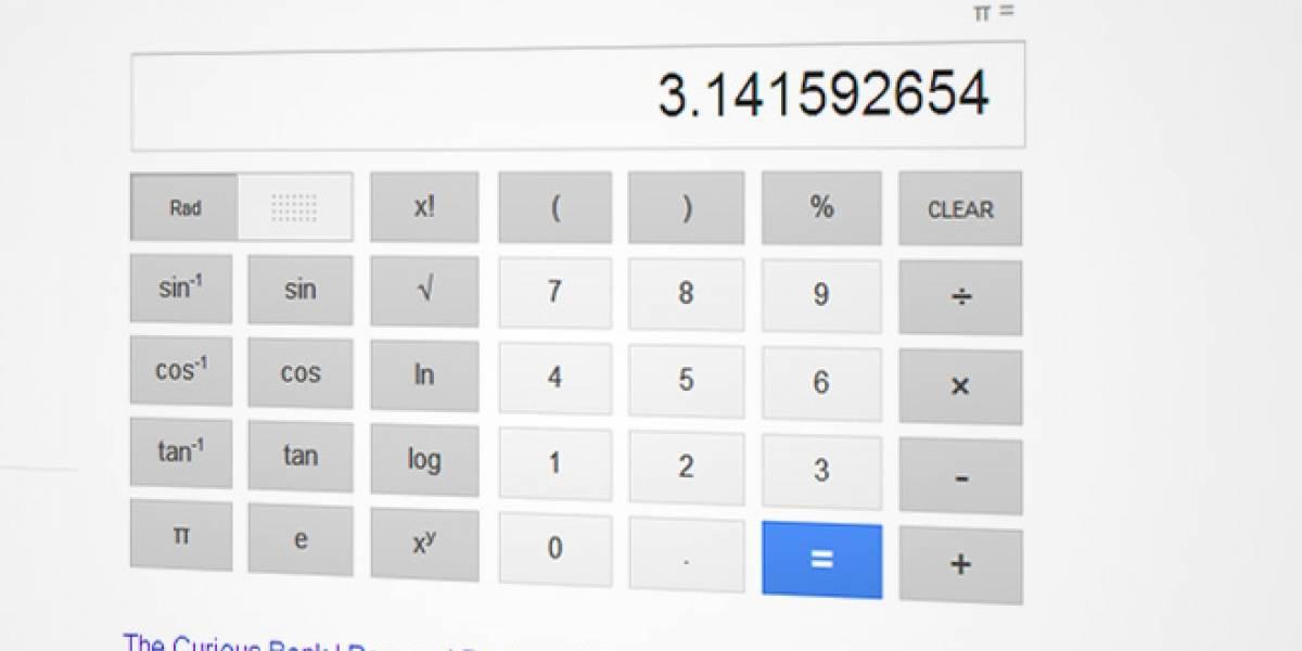 Google agrega una calculadora a los resultados de búsqueda