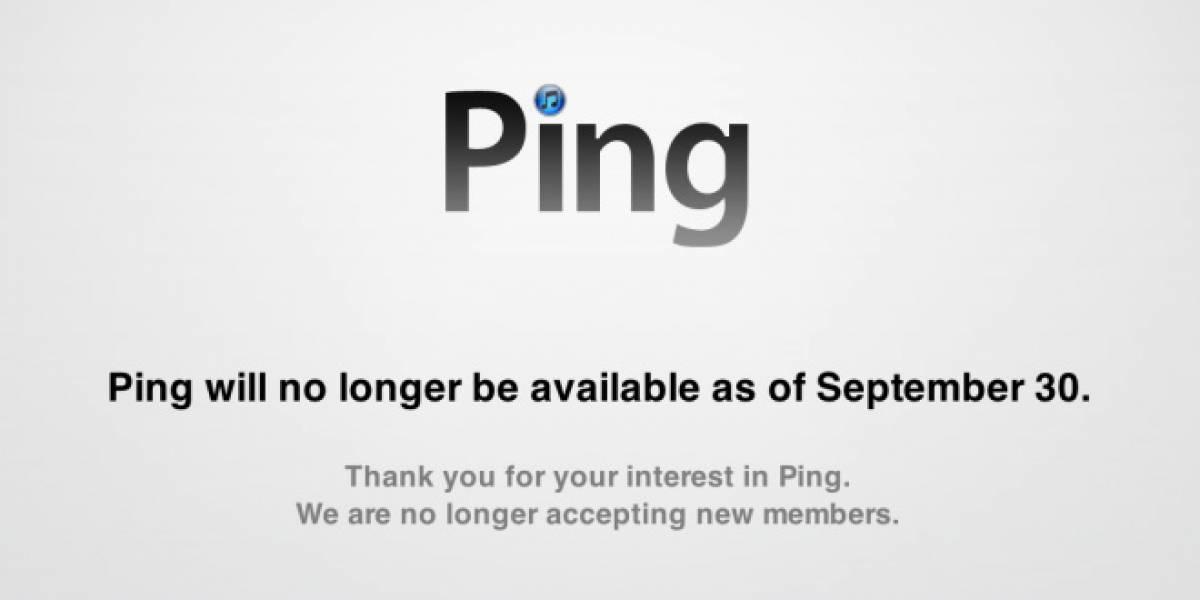 El 30 de septiembre se acaba la fallida red social Ping