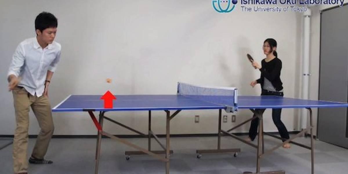 Sistema de seguimiento ultra rápido que no pierde de vista una pelota de ping pong