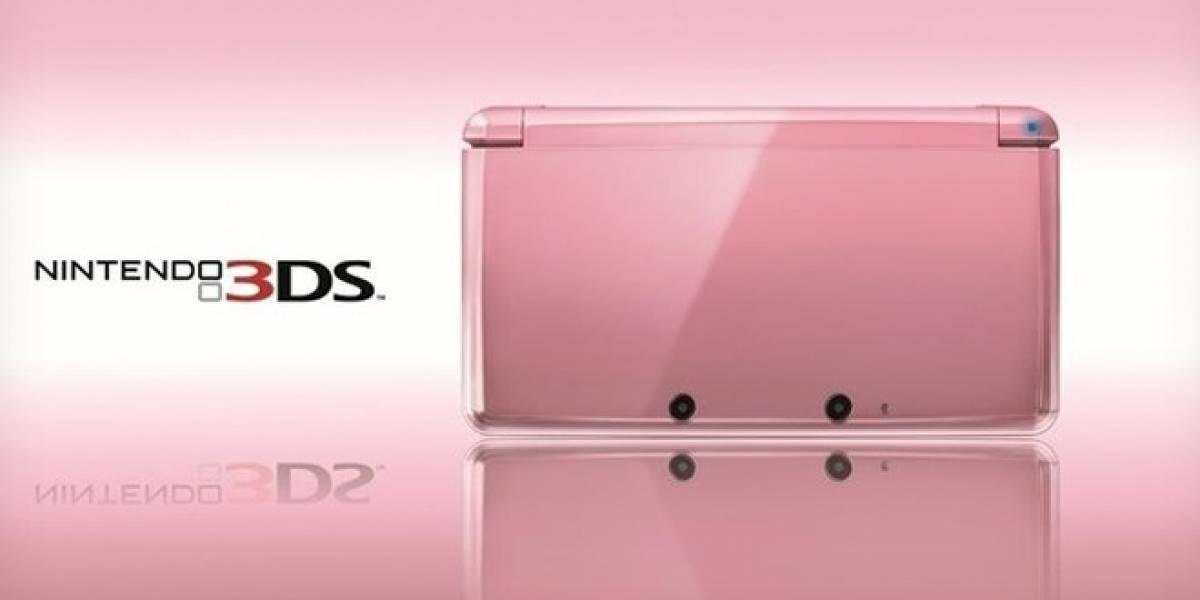 Nintendo lanzará 3DS rosa con motivo de San Valentín