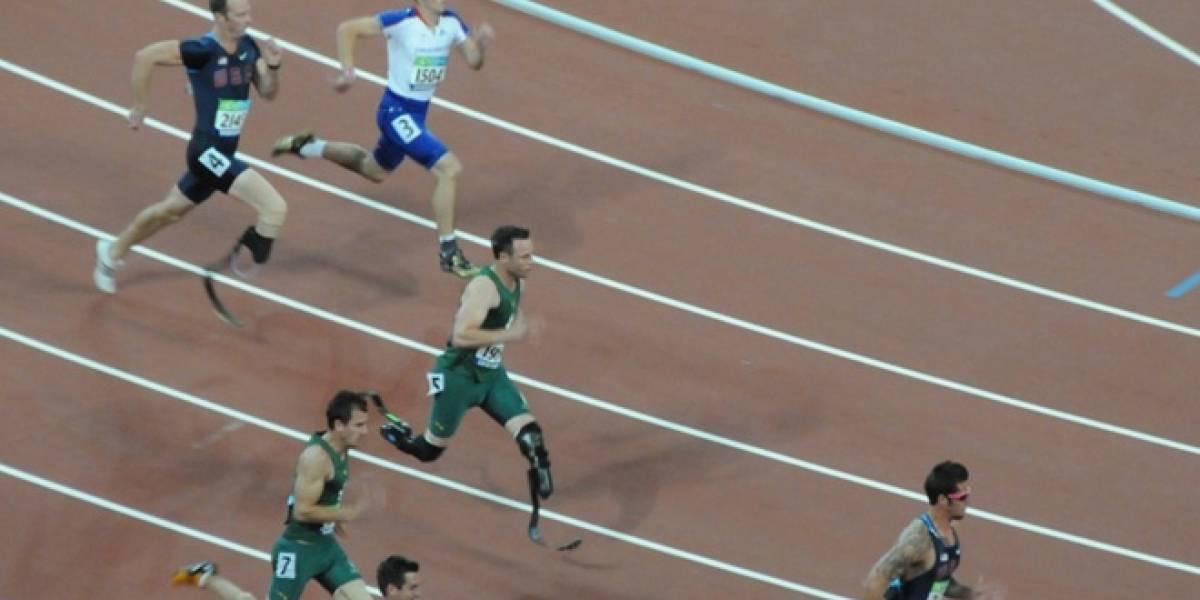 Doble amputado de piernas correrá en los Juegos Olímpicos