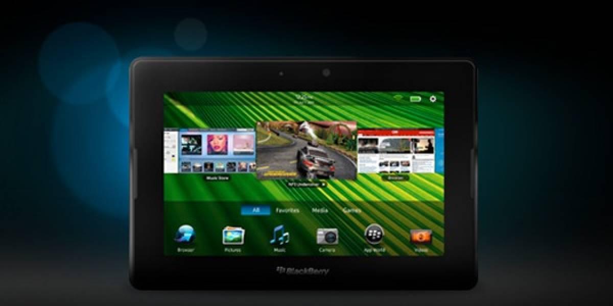 Research in Motion confirma que BlackBerry PlayBook OS 2.0 verá la luz en febrero de 2012