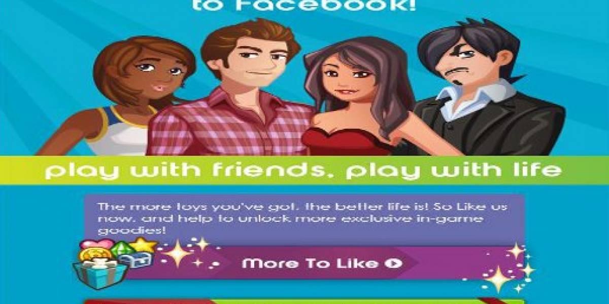 Conéctate con tus contactos de Facebook a través de Los Sims