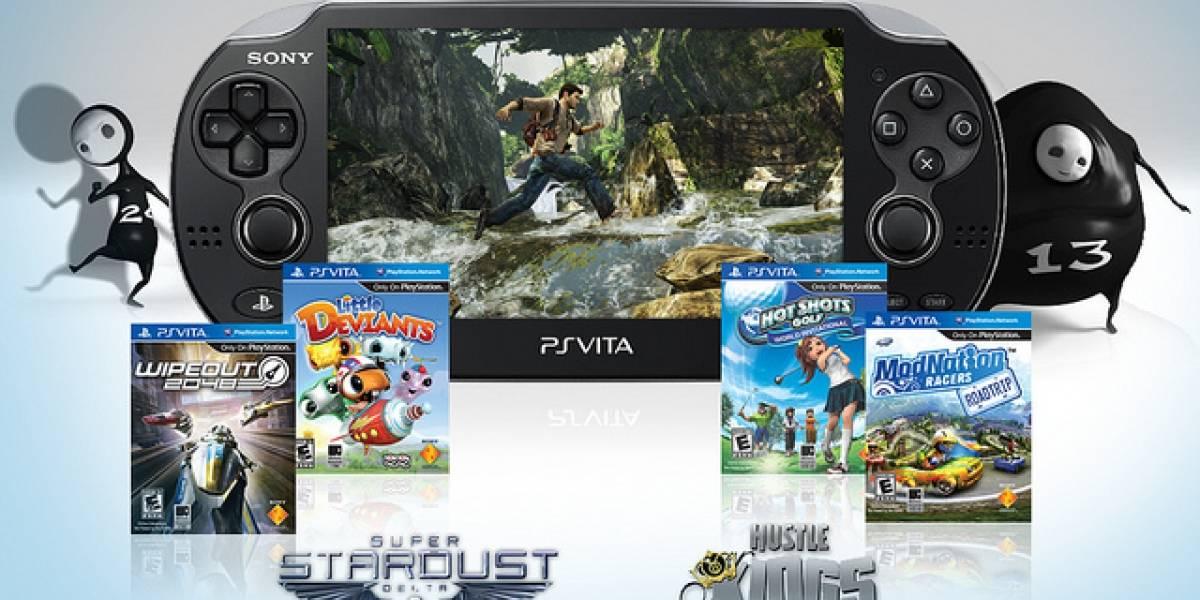 Oficial: Lista de juegos y accesorios con los que se estrena PlayStation Vita