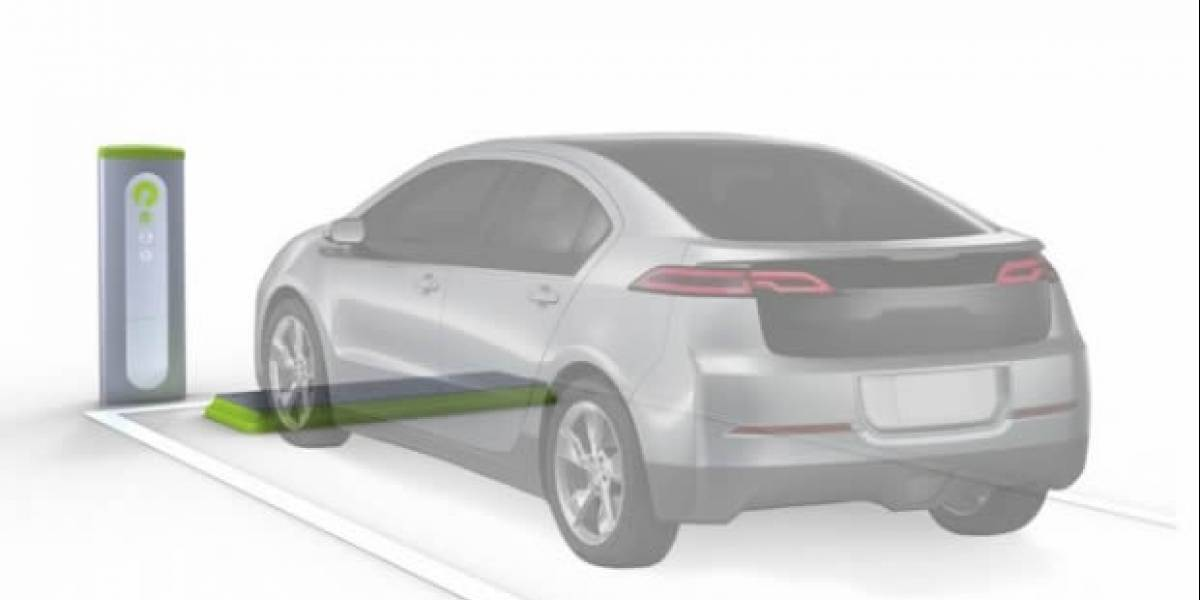 Google instaló cargador inalámbrico para autos eléctricos en su campus