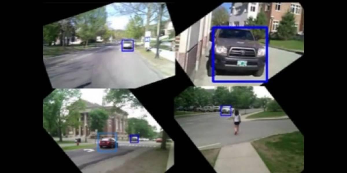WalkSafe te advierte del peligro que viene desde la carretera