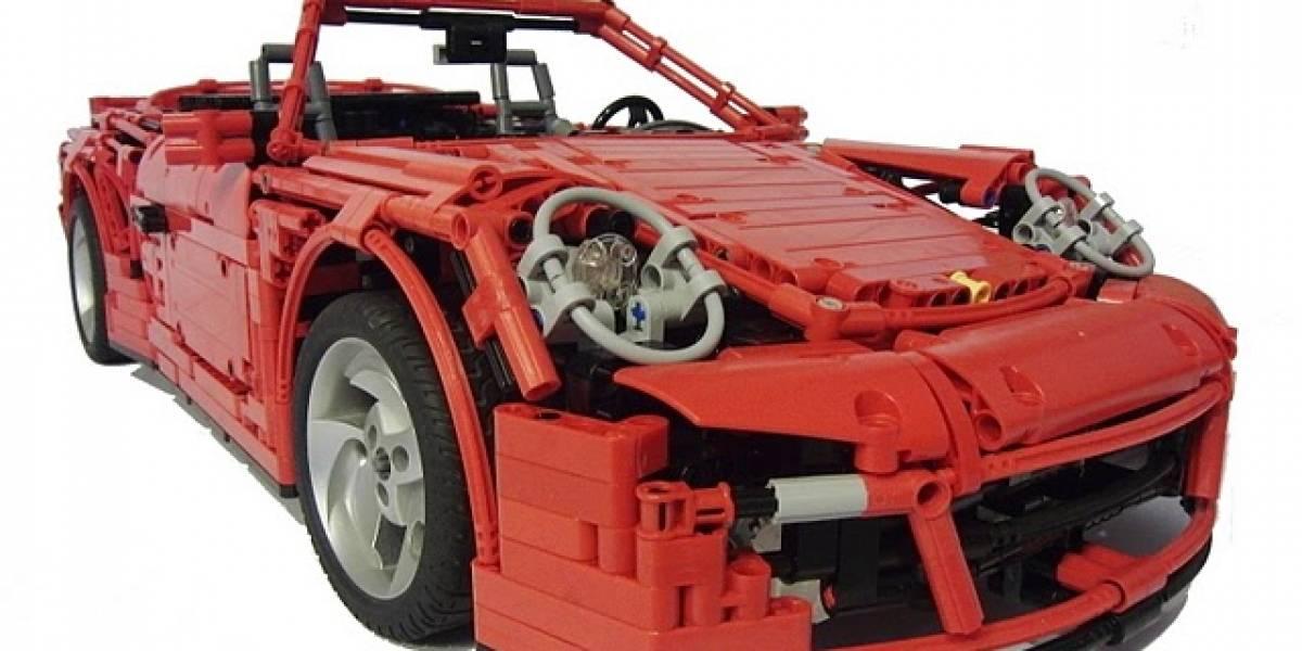 Después de ver este Porsche 911 te avergonzarás de todos tus autos de Lego