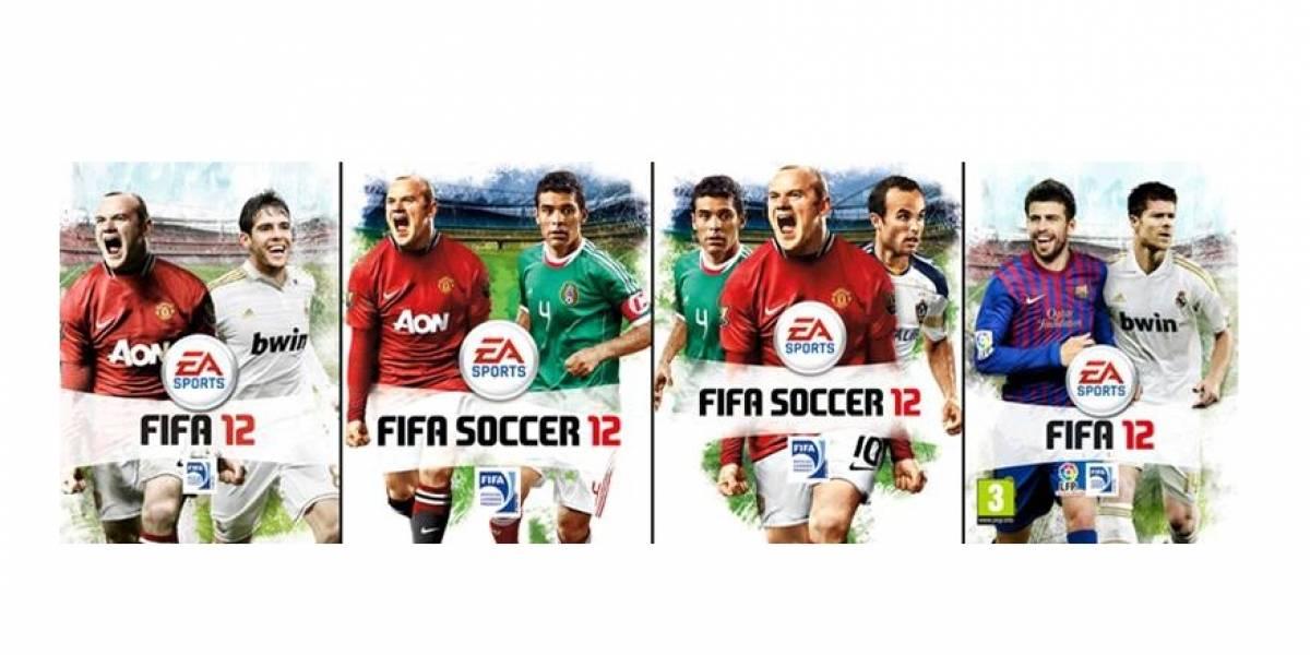 EA Sports lee Niubie: vota por tu portada favorita para FIFA 12