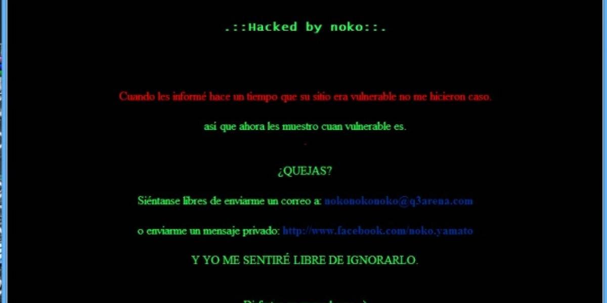 Chile: Hackean sitio web de Claro (Actualizado)
