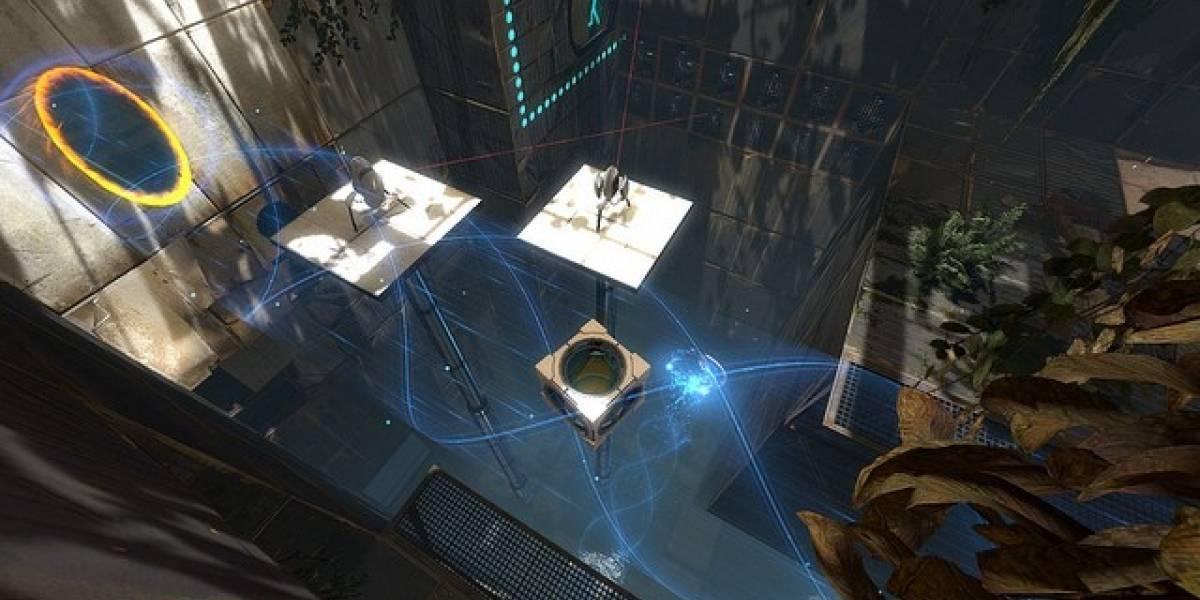 Éstas son las funciones de Steam para Portal 2 en PlayStation 3