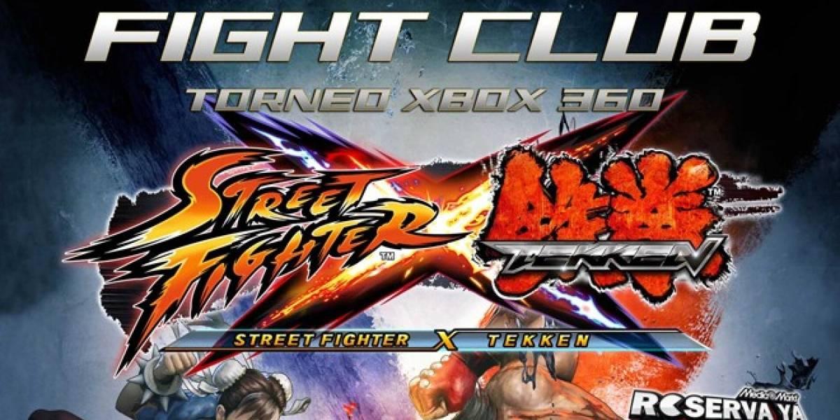 España: Participa en el Fight Club de Street Fighter X Tekken