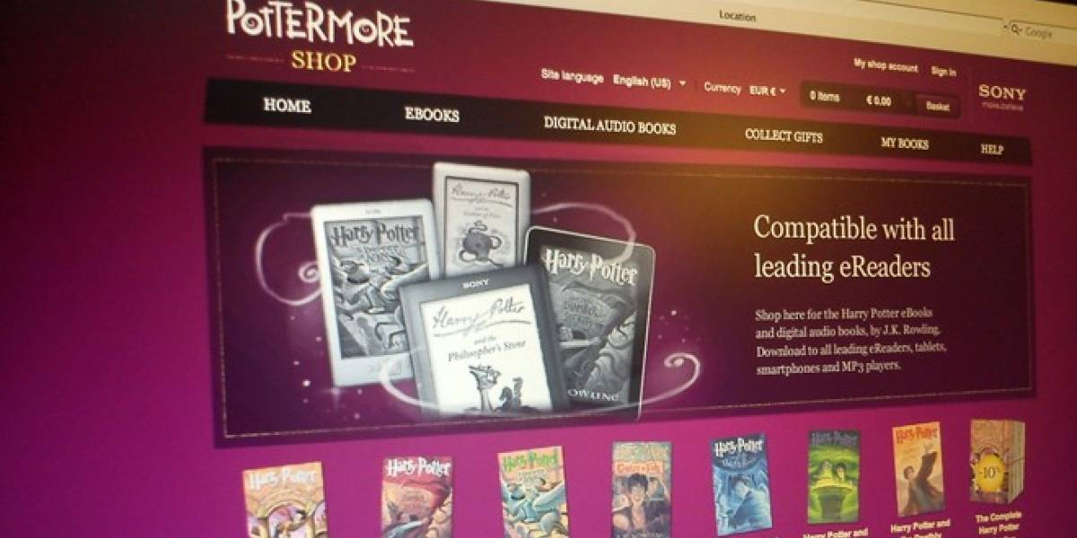 Ya puedes leer eBooks de Harry Potter en dispositivos móviles