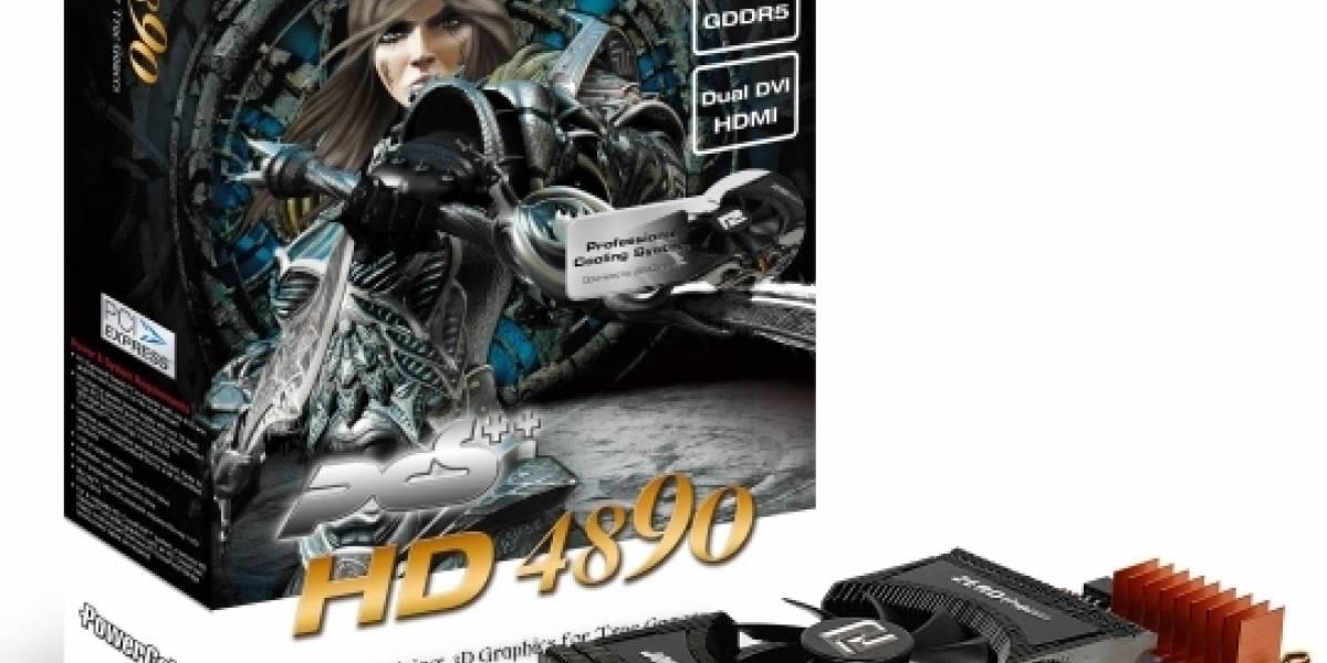 PowerColor anuncia Radeon HD 4890 PCS++
