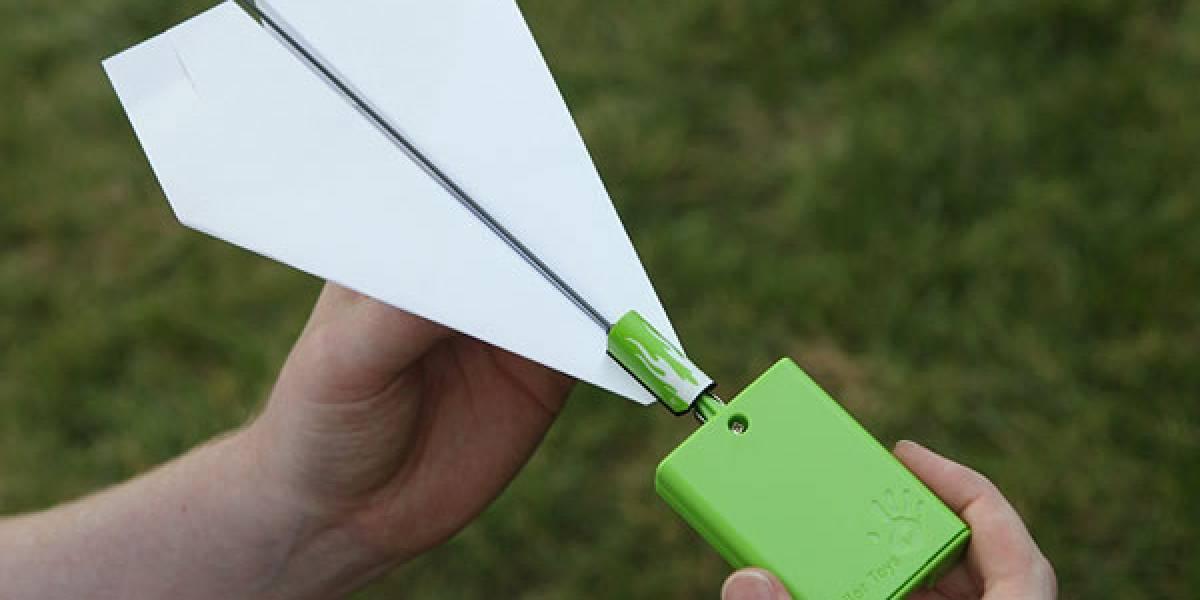 """Los avioncitos de papel nunca más serán lo mismo con este """"avance"""""""