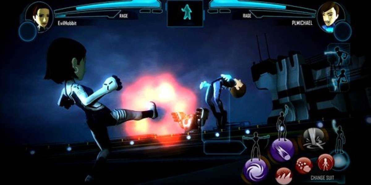Encarna a un superhéroe con Kinect en Power Up Heroes