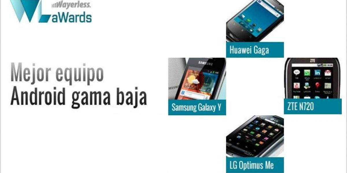 WL aWards 11: Mejor equipo Android Gama Baja