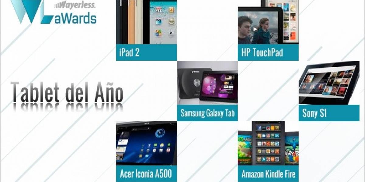 WL aWards 2011: Elijamos juntos al Tablet del año