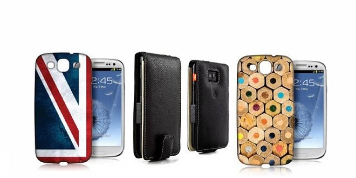 ¿Qué te parecen estas cubiertas Proporta para el Samsung Galaxy S III?
